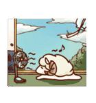 まったり羊和みスタンプ(個別スタンプ:24)