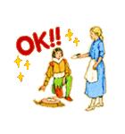 シンデレラ(アンティークブック)(個別スタンプ:06)