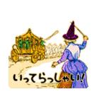 シンデレラ(アンティークブック)(個別スタンプ:15)