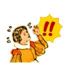 シンデレラ(アンティークブック)(個別スタンプ:24)