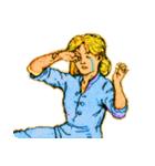 シンデレラ(アンティークブック)(個別スタンプ:26)