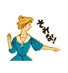 シンデレラ(アンティークブック)(個別スタンプ:37)