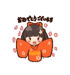 丁寧女子 ~はなちゃん~(個別スタンプ:02)