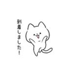 白ねこマルちゃん3(個別スタンプ:17)