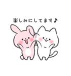 白ねこマルちゃん3(個別スタンプ:27)