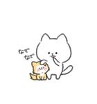 白ねこマルちゃん3(個別スタンプ:39)