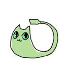 わさび猫とおともだち(個別スタンプ:21)