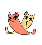 わさび猫とおともだち(個別スタンプ:22)