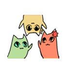 わさび猫とおともだち(個別スタンプ:40)