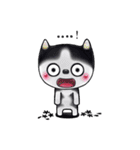 Lucky-Chamily is a husky(個別スタンプ:04)