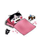 Lucky-Chamily is a husky(個別スタンプ:16)