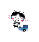Lucky-Chamily is a husky(個別スタンプ:25)