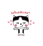 Lucky-Chamily is a husky(個別スタンプ:26)