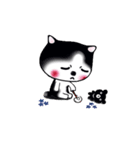 Lucky-Chamily is a husky(個別スタンプ:27)