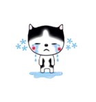 Lucky-Chamily is a husky(個別スタンプ:36)