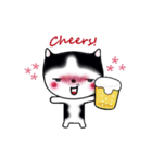 Lucky-Chamily is a husky(個別スタンプ:38)