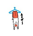 ハンガーと人(個別スタンプ:15)