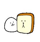 おにぎりくんと食パンくん(個別スタンプ:13)