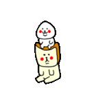 おにぎりくんと食パンくん(個別スタンプ:35)