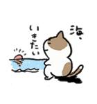 ゆるかわたのC!にゃんこ先輩スタンプ(個別スタンプ:02)