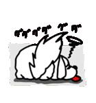 可愛い犬のリアクション。(個別スタンプ:36)