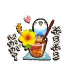 インコちゃんの夏(個別スタンプ:21)