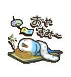 インコちゃんの夏(個別スタンプ:39)