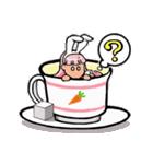 ティーカップ BUNNY(個別スタンプ:05)