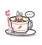 ティーカップ BUNNY(個別スタンプ:09)