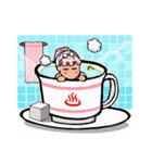 ティーカップ BUNNY(個別スタンプ:10)