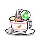 ティーカップ BUNNY(個別スタンプ:14)