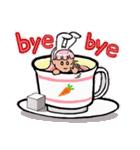 ティーカップ BUNNY(個別スタンプ:15)