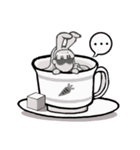 ティーカップ BUNNY(個別スタンプ:23)