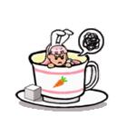 ティーカップ BUNNY(個別スタンプ:25)