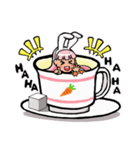 ティーカップ BUNNY(個別スタンプ:26)