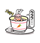 ティーカップ BUNNY(個別スタンプ:27)
