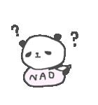 なおちゃんズ基本セットNao cute panda(個別スタンプ:38)