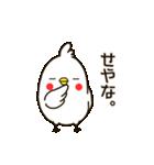 白いトリ。関西風味(個別スタンプ:10)