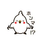白いトリ。関西風味(個別スタンプ:12)