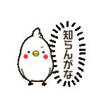 白いトリ。関西風味(個別スタンプ:19)