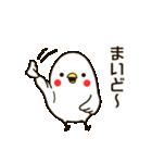 白いトリ。関西風味(個別スタンプ:29)