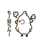 白いトリ。関西風味(個別スタンプ:33)