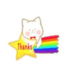 いちごとオレンジ♡うさぎとネコ(個別スタンプ:04)