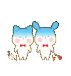 いちごとオレンジ♡うさぎとネコ(個別スタンプ:16)