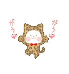 いちごとオレンジ♡うさぎとネコ(個別スタンプ:24)
