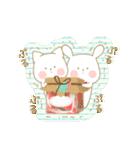 いちごとオレンジ♡うさぎとネコ(個別スタンプ:38)