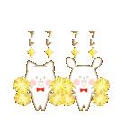 いちごとオレンジ♡うさぎとネコ