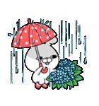 毒舌うさこの梅雨(漫画風)(個別スタンプ:7)