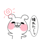 毒舌うさこの梅雨(漫画風)(個別スタンプ:30)