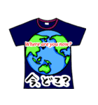 メッセージはTシャツで☆~ウサギ星人ver~(個別スタンプ:01)